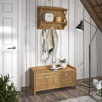 comprar recibidor de estilo rustico