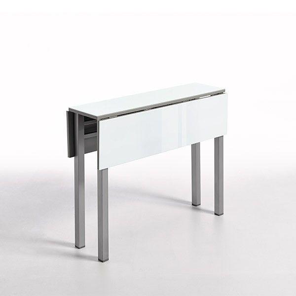 Mesa Pol Cristal | Mesas de cocina en Muebles Lara