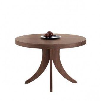 Mesas de comedor redondas extensibles   Muebles Lara