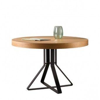 Mesas de comedor redondas extensibles | Muebles Lara