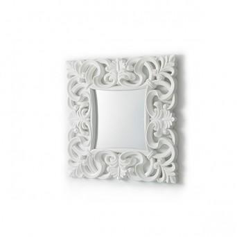 espejo moderno cuadrado madera