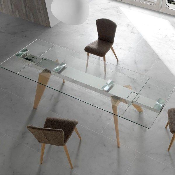 Mesa de comedor extensible Tavolo Wood