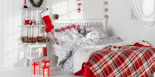Decorar un dormitorio en navidad