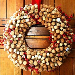 decoración navideña ecológica
