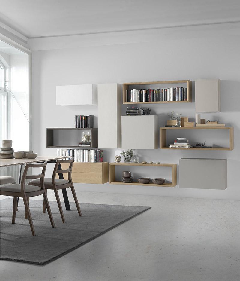 Composición modular para salones modernos