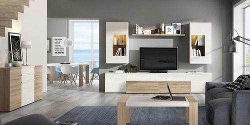 Muebles para salones y comedores modernos