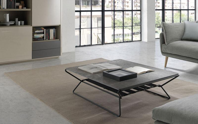 mesa de centro moderna para salón moderno