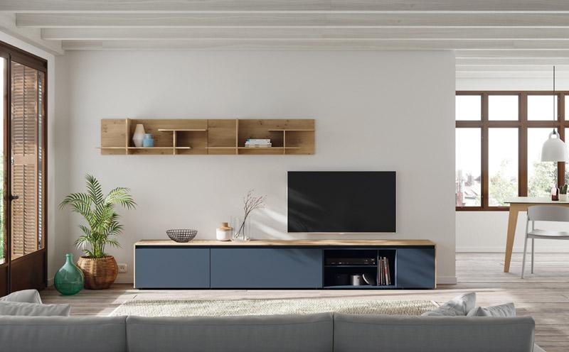 Muebles en DM lacado