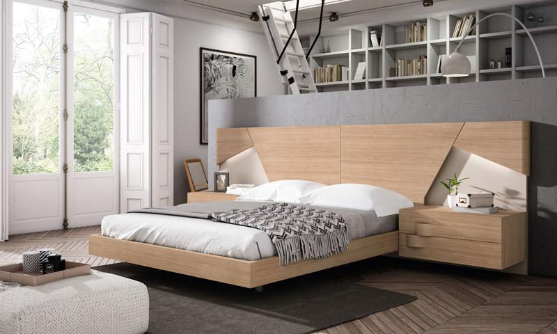 Muebles en chapa natural con DM lacado