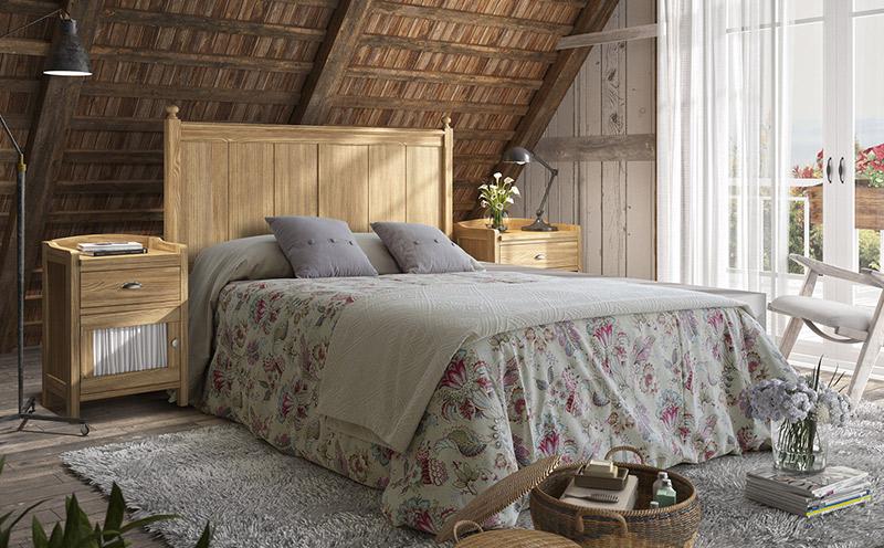 Comprar dormitorio rústico Verona
