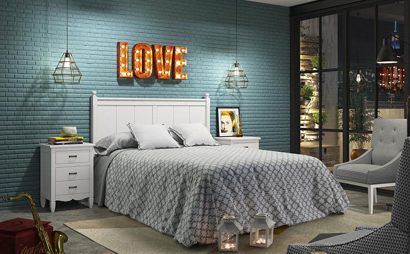 Dormitorios rústicos modernos en Muebles Lara