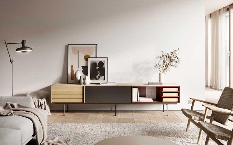 Mueble de TV Aura de Treku