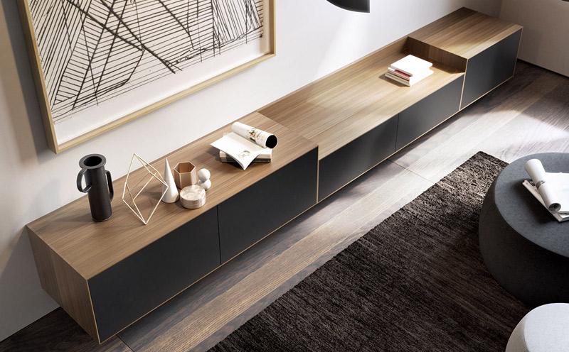 Mueble de televisión de diseño de Treku