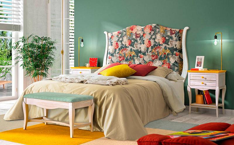 Dormitorio tapizado Grupo Seys