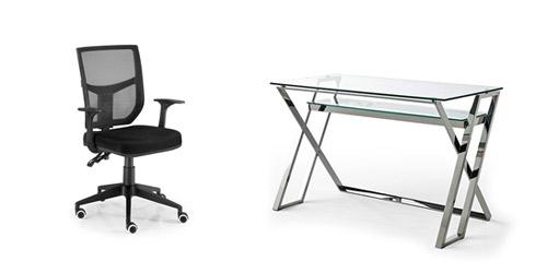 Muebles de oficina para realizar teletrabajo desde casa