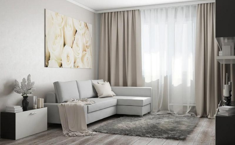 Cortinas para sala de estar