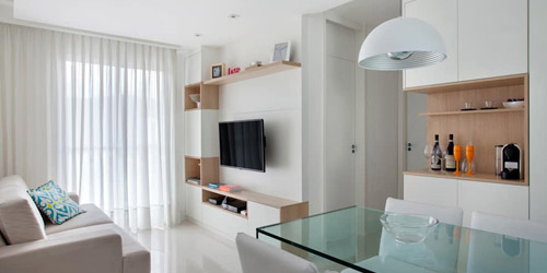 Ideas cautivadoras para tu sala de estar pequeña