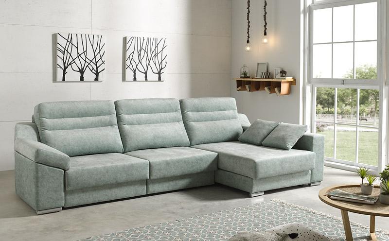 Sala de estar rectangular