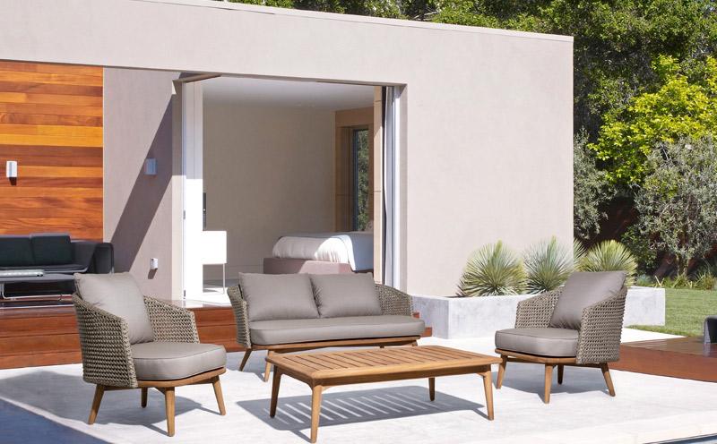 Sofás para terrazas con encanto