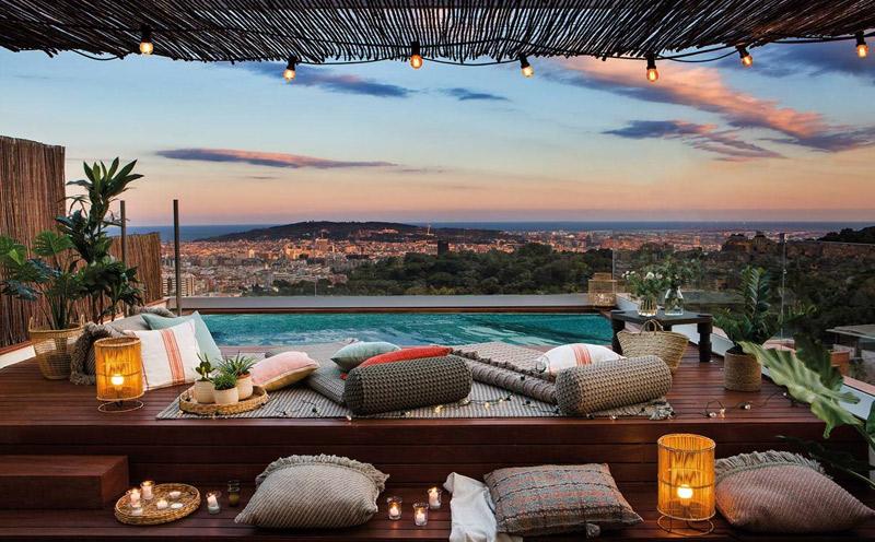 Iluminación para terraza