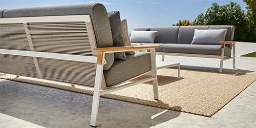Mejores materiales para muebles de terraza