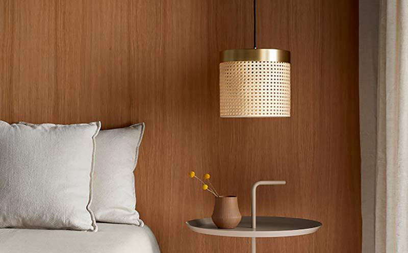 Lámpara colgante Ptan diseñada por Aromas