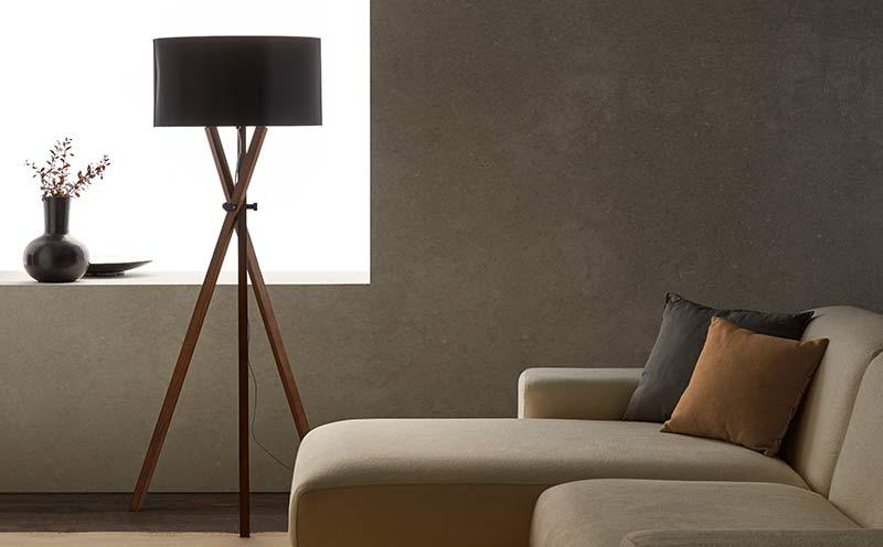 Lámpara de pie Cot diseñada por Aromas