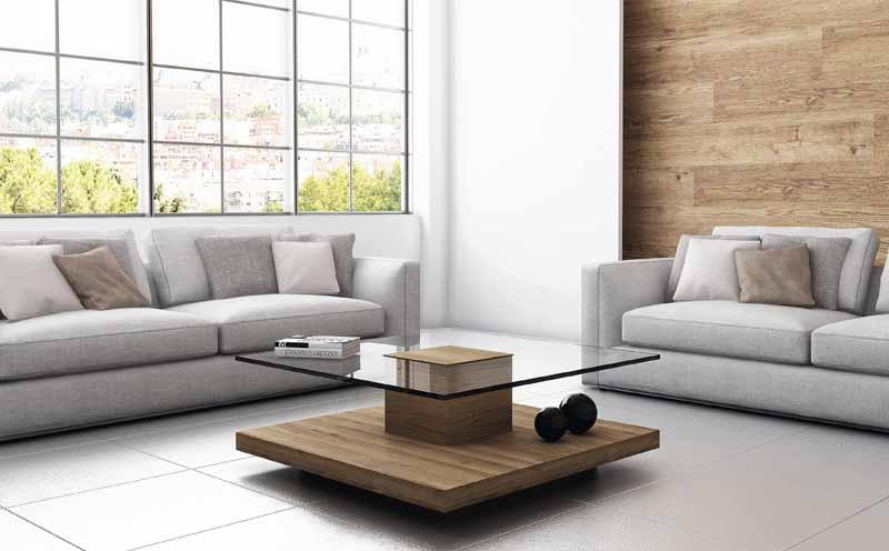 Comprar mesa de madera y cristal