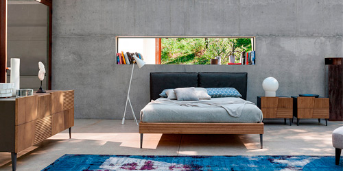 5 muebles de diseño para decorar el dormitorio