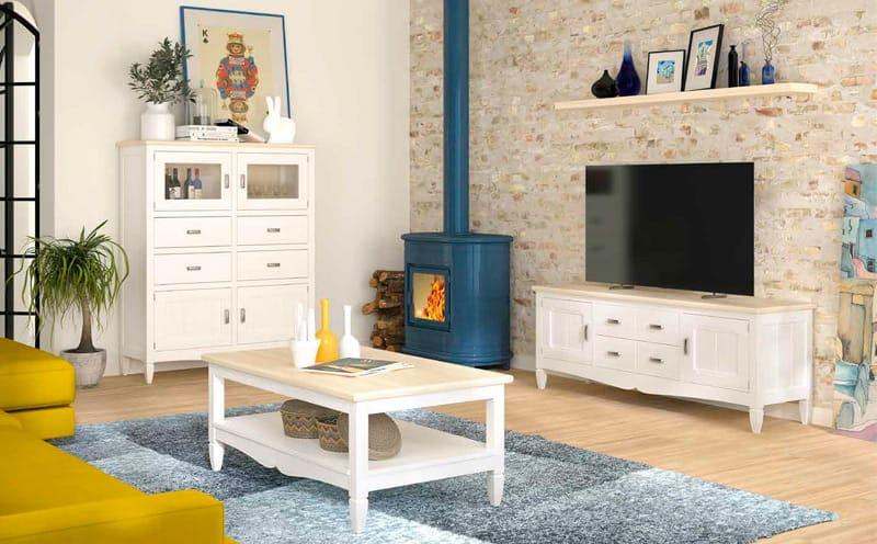 muebles de tv rusticos