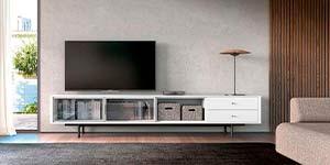 Mueble Tv Industrial Salón