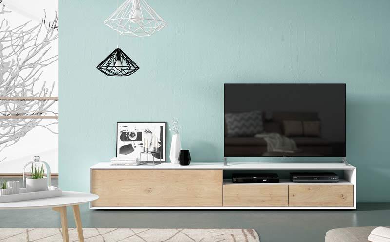 Mueble Tv Estilo Nórdico Ilusion 2