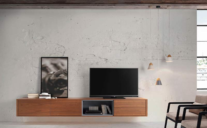 Mueble Tv Flotante Moss Loyra
