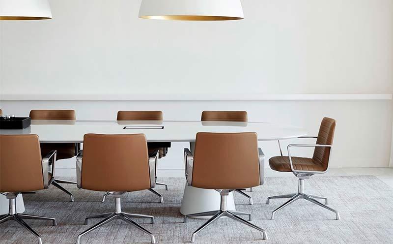 sillón oficina salón reuniones flex executive