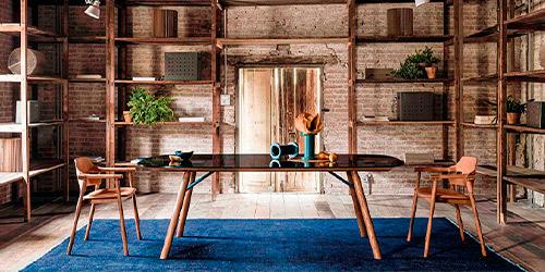 Muebles rústicos para casas rurales
