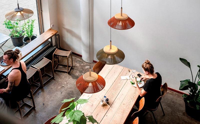 Lámpara de techo Hostelería