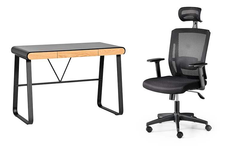 Pack teletrabajo mesa escritorio mesa oficina
