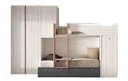 Dormitorios juveniles con litera