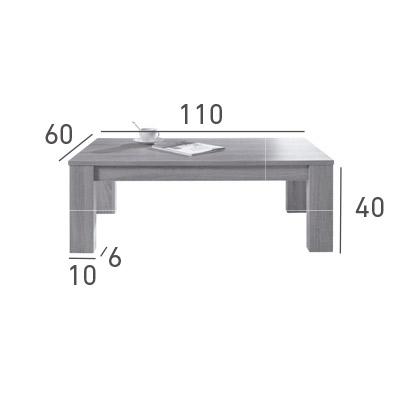 mesa de centro evora