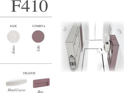 Dormitorio juvenil F410 Glicerio Chaves