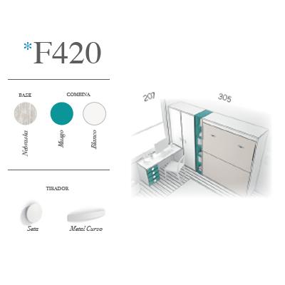 dormitorio juvenil F420