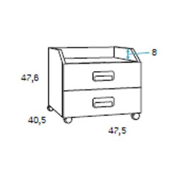 dormitorio juvenil F009 detalle 6