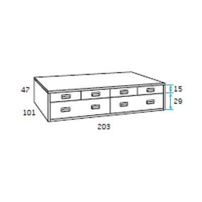 dormitorio compacto juvenil detalle 1