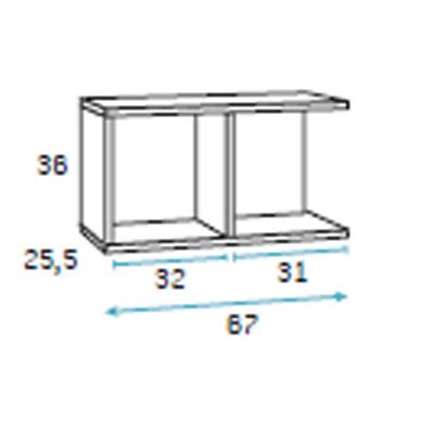 dormitorio compacto juvenil detalle 6