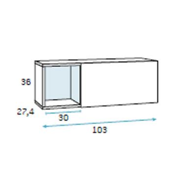 dormitorio compacto juvenil detalle 3