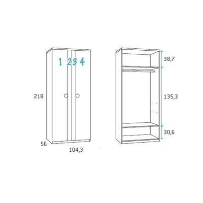 dormitorio nido juvenil F102 detalle 7