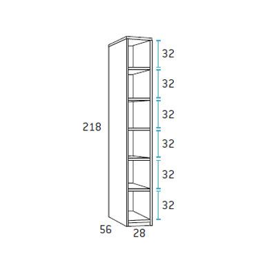 dormitorio nido juvenil F102 detalle 8