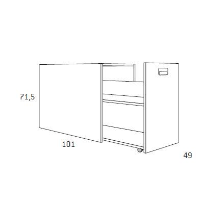 dormitorio nido juvenil F102 detalle 5