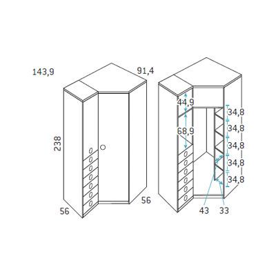 dormitorio nido juvenil F103 detalle 7